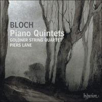 Cover of CDA67638 - Bloch: Piano Quintets