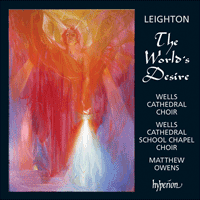 Cover of CDA67641 - Leighton: The World's Desire