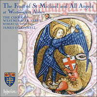 Cover of CDA67643 - The Feast of Michaelmas at Westminster Abbey