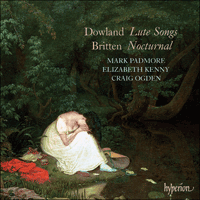 Cover of CDA67648 - Dowland: Lute Songs; Britten: Nocturnal