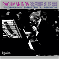 Cover of CDA67649 - Rachmaninov: Piano Concertos Nos 2 & 3