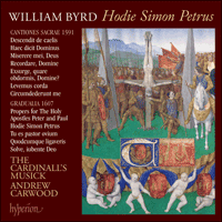 Cover of CDA67653 - Byrd: Hodie Simon Petrus