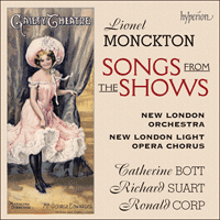 CDA67654 - Monckton: Songs from the shows