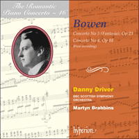 Cover of CDA67659 - Bowen: Piano Concertos