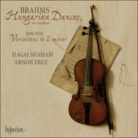 Cover of CDA67663 - Brahms & Joachim: Hungarian Dances