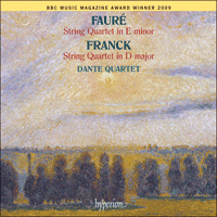 Cover of CDA67664 - Faur� & Franck: String Quartets
