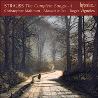Cover of CDA67667 - Strauss: The Complete Songs, Vol. 4 � Christopher Maltman & Alastair Miles