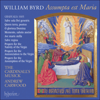 Cover of CDA67675 - Byrd: Assumpta est Maria