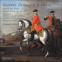 Cover of CDA67678 - Handel: Dettingen Te Deum