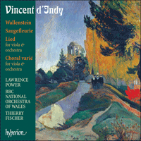 CDA67690 - Indy: Wallenstein & other orchestral works