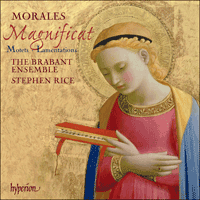 Cover of CDA67694 - Morales: Magnificat, Motets & Lamentations