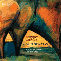 Cover of CDA67699 - Dohn�nyi & Jan�cek: Violin Sonatas