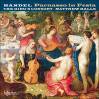Cover of CDA67701/2 - Handel: Parnasso in Festa