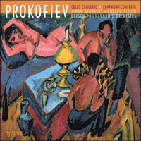 Cover of CDA67705 - Prokofiev: Cello Concerto & Symphony-Concerto