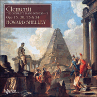 Cover of CDA67729 - Clementi: Piano Sonatas, Vol. 3