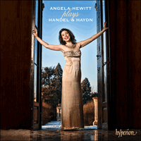 Cover of CDA67736 - Handel & Haydn: Angela Hewitt plays Handel & Haydn