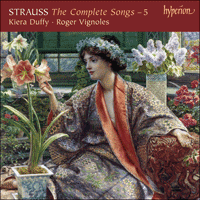 Cover of CDA67746 - Strauss: The Complete Songs, Vol. 5 � Kiera Duffy