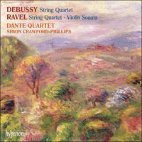 Cover of CDA67759 - Ravel & Debussy: String Quartets