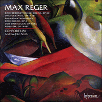 Cover of CDA67762 - Reger: Choral Music