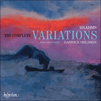 Cover of CDA67777 - Brahms: The Complete Variations