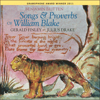 Cover of CDA67778 - Britten: Songs & Proverbs of William Blake
