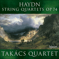 Cover of CDA67781 - Haydn: String Quartets Op 74