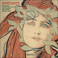 Cover of CDA67783 - Bacewicz: Music for string orchestra