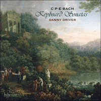 Cover of CDA67786 - Bach (CPE): Keyboard Sonatas, Vol. 1