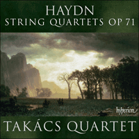 Cover of CDA67793 - Haydn: String Quartets Op 71