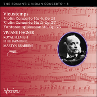Cover of CDA67798 - Vieuxtemps: Violin Concertos