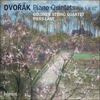 Cover of CDA67805 - Dvor�k: Piano Quintets Opp 5 & 81