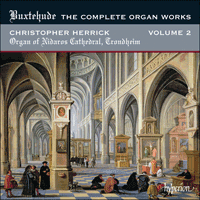 Cover of CDA67809 - Buxtehude: The Complete Organ Works, Vol. 2 � Nidaros Cathedral, Trondheim