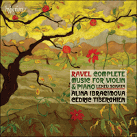 CDA67820 - Ravel: Complete music for violin & piano