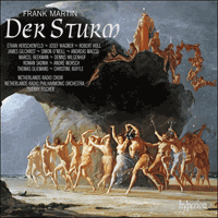Cover of CDA67821/3 - Martin: Der Sturm
