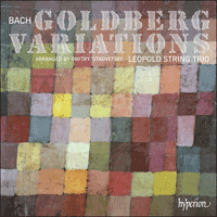 Cover of CDA67826 - Bach & Sitkovetsky: Goldberg Variations
