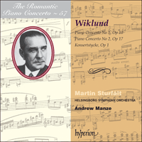Cover of CDA67828 - Wiklund: Piano Concertos