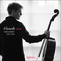 Cover of CDA67831 - Casals Encores