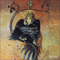 Cover of CDA67834 - Shostakovich: Piano Trios & Songs