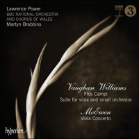 Cover of CDA67839 - Vaughan Williams: Flos Campi & Suite; McEwen: Viola Concerto