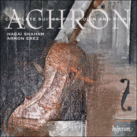 Cover of CDA67841 - Achron: Complete Suites for violin and piano