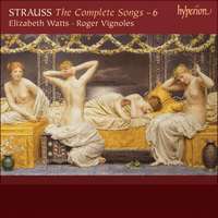 CDA67844 - Strauss: The Complete Songs, Vol. 6 - Elizabeth Watts