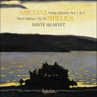 Cover of CDA67845 - Smetana & Sibelius: String Quartets