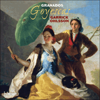 Cover of CDA67846 - Granados: Goyescas & other piano music