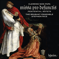 Cover of CDA67848 - Clemens: Requiem & Penitential Motets
