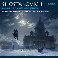 CDA67865 - Shostakovich: Music for viola and piano