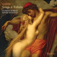 Cover of CDA67866 - Loewe: Songs & Ballads