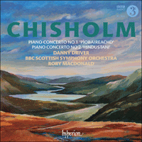 Cover of CDA67880 - Chisholm: Piano Concertos