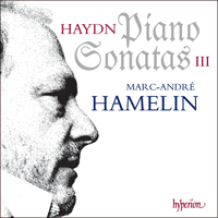 Cover of CDA67882 - Haydn: Piano Sonatas, Vol. 3