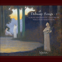 CDA67883 - Debussy: Songs, Vol. 2