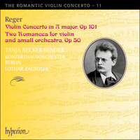 Cover of CDA67892 - Reger: Violin Concertos